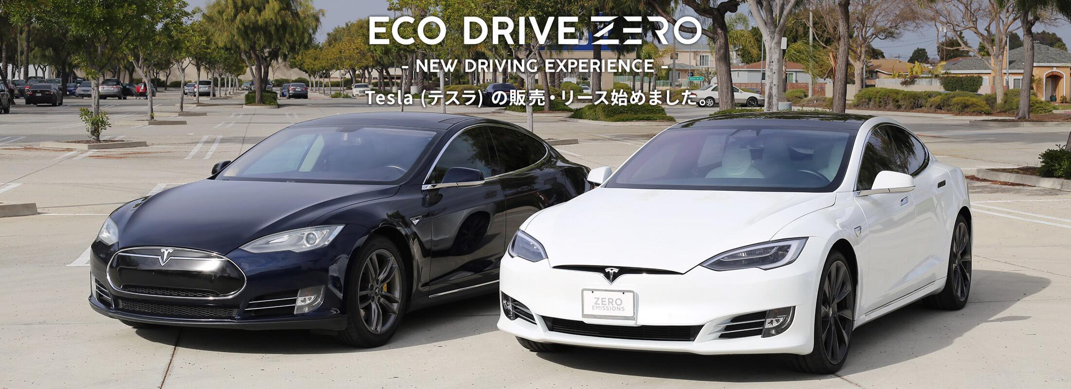 ECO DRIVE ZERO Tesla (テスラ) の販売・リース